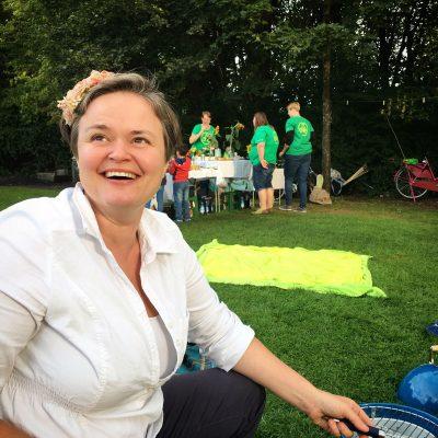 Susanne Kurz Kandidatin für den Bayerischen Landtag beim Green Dinner als Landtagskandidatin