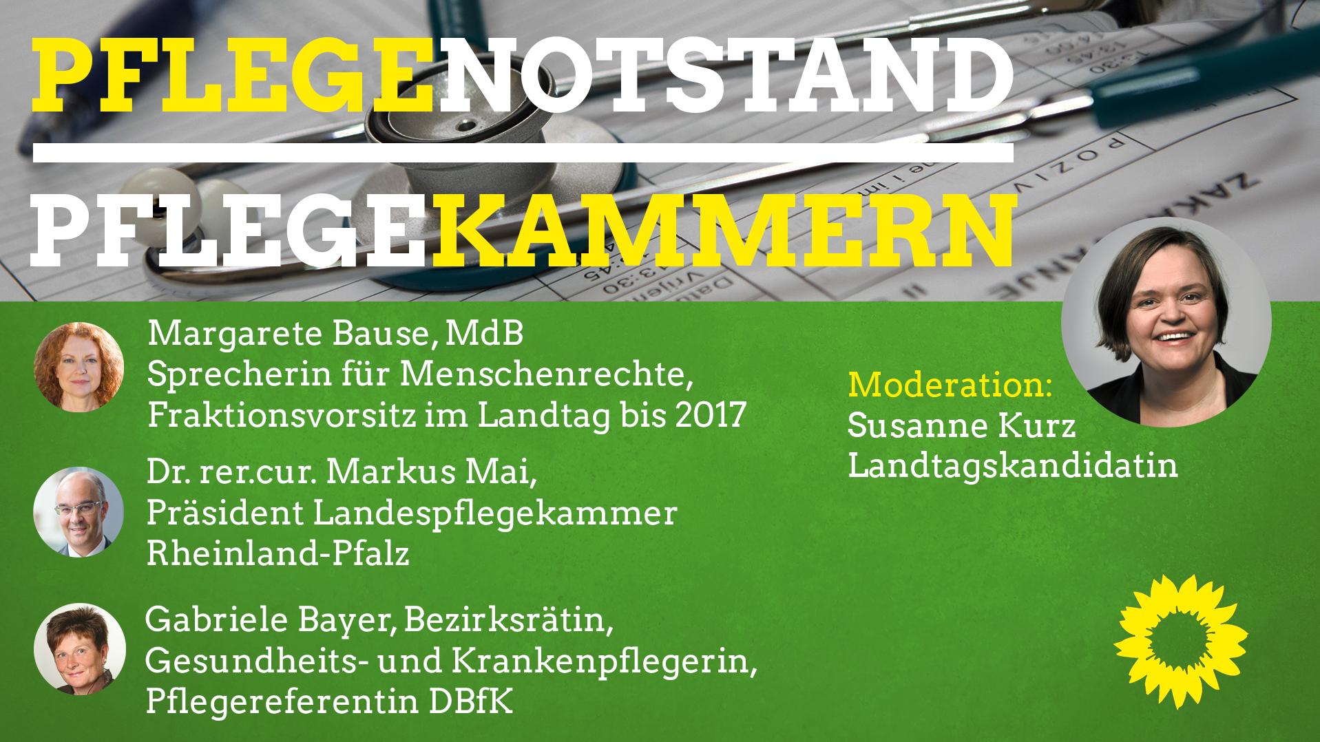 Margarete Bause Sanne Kurz Veranstaltung