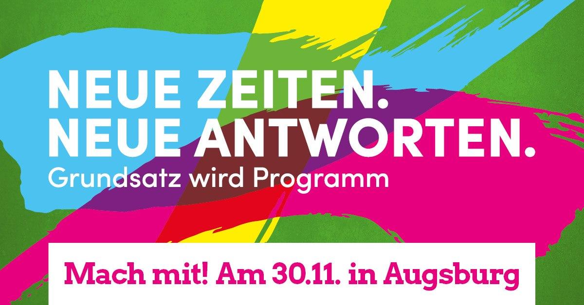 Sanne Kurz Bayerischer Landtag Grüne Fraktion Landtag Bayern Kunst Kultur Grundsatzkonvent