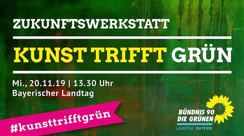Sanne Kurz Bayerischer Landtag Grüne Fraktion Landtag Bayern Kunst Kultur