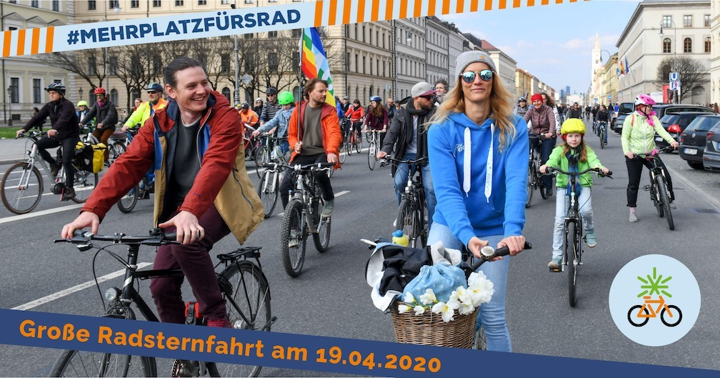 Sanne Kurz Bayerischer Landtag Grüne Fraktion Bayern Radsternfahrt 2020