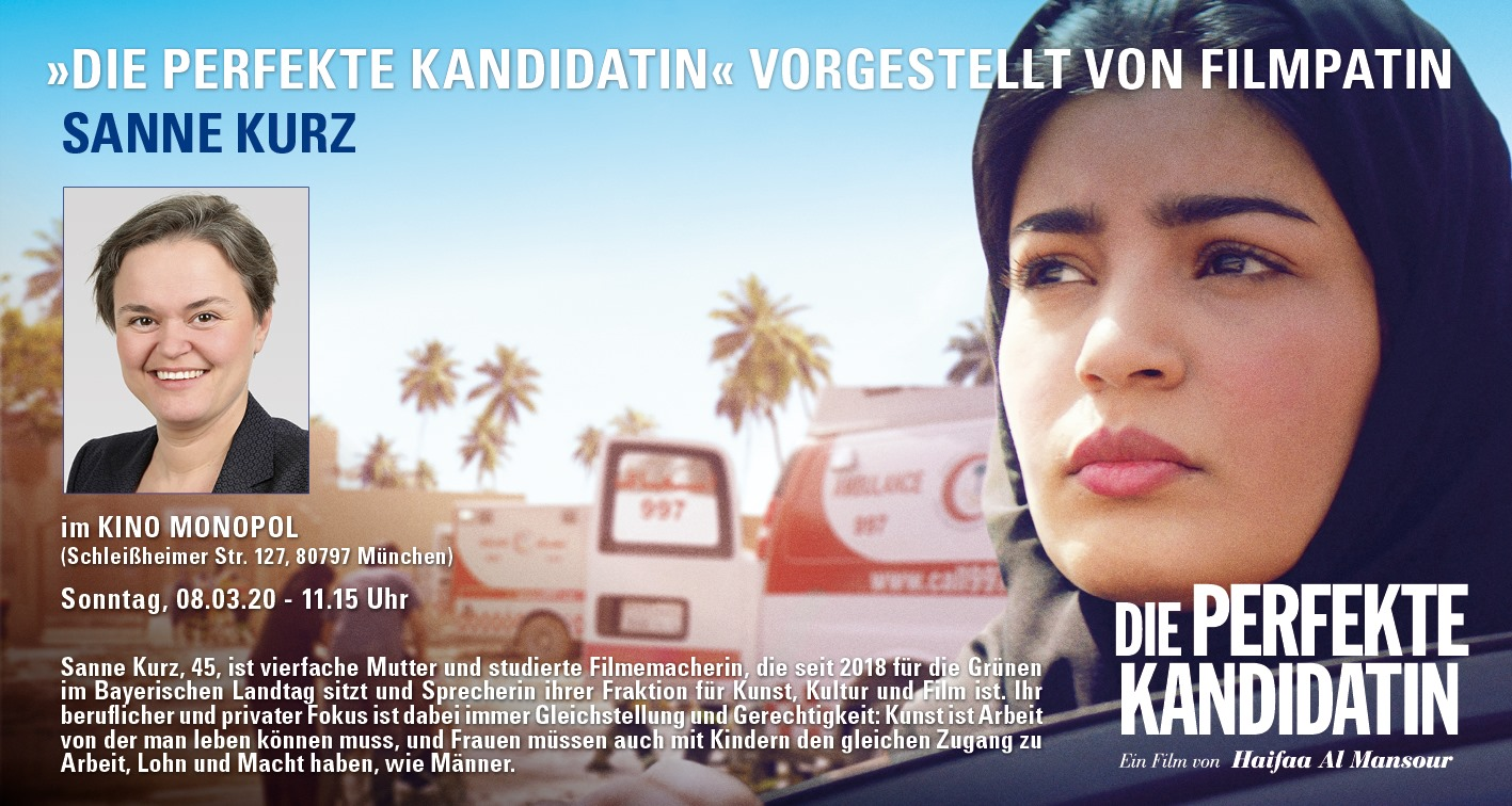 Sanne Kurz Bayerischer Landtag Grüne Fraktion Bayern Filmpreview zum Frauentag Die perfekte Kandidatin
