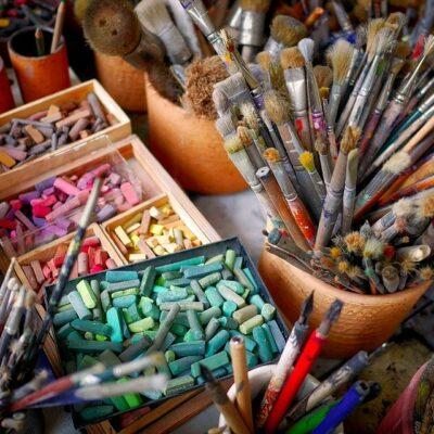 Kunst Atelierförderung Bayern Sanne Kurz Grüne Fraktion Kulturpolitikpolitik