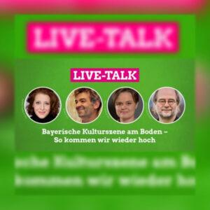 Live Talk Luise Kinseher Till hofmann Sanne Kurz Eike Hallitzky Grüne Bayern