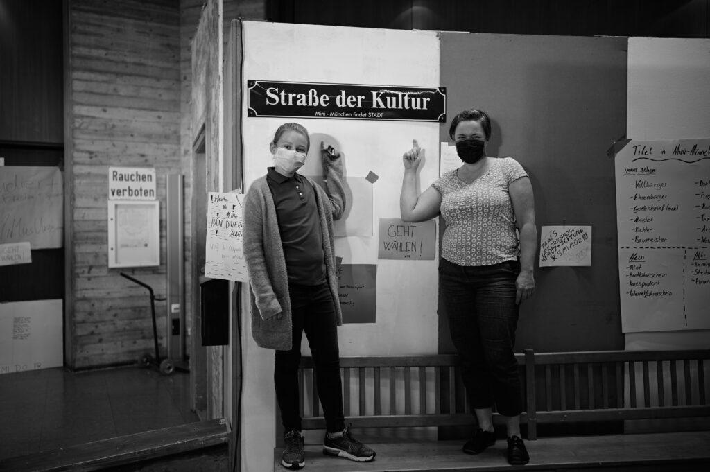 Sanne Kurz Grüne Abgeordnete München Ost Straße der Kultur in Mini München 2020