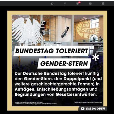 funk_Ard_ZDF_Die_da_oben_Genderstern_Bundestag