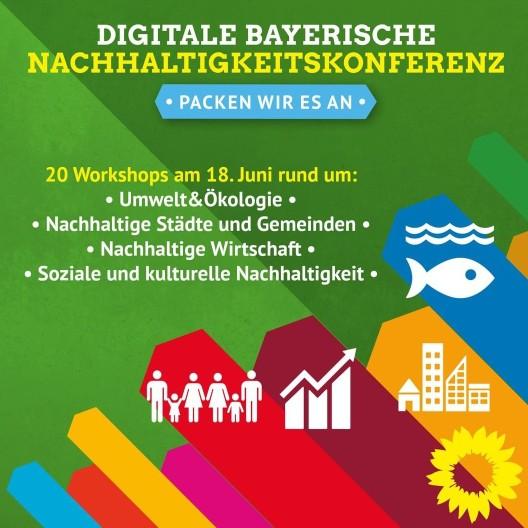 Nachhaltigkeitskongress Nachhaltigkeit Grüne Bayern Landtag Workshop Sanne Kurz