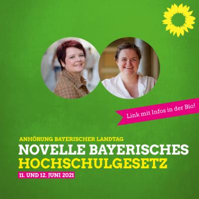 novelle-bayerisches-hochschulgesetz_Sanne Kurz_Verena Osgyan_Grüne Fraktion Bayern