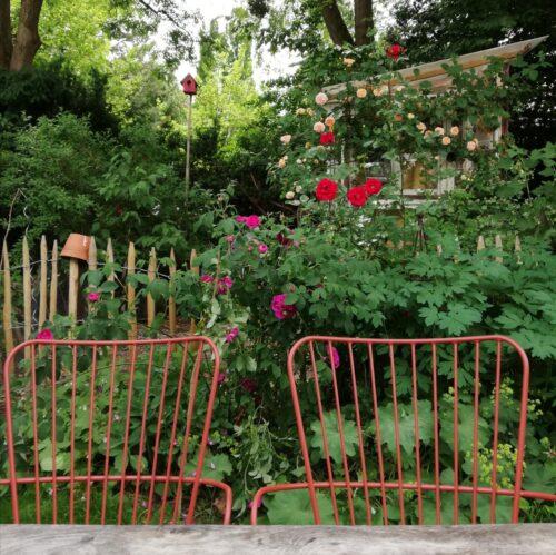 Gartenstühle Einladung zur Buergersprechstunde Sanne Kurz Gruene Fraktion Bayern Landtag