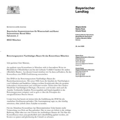 offener_Brief_München_Konzerthaus_Nachhaltig_BNB_Bayern_Landtag_Die_Gruenen